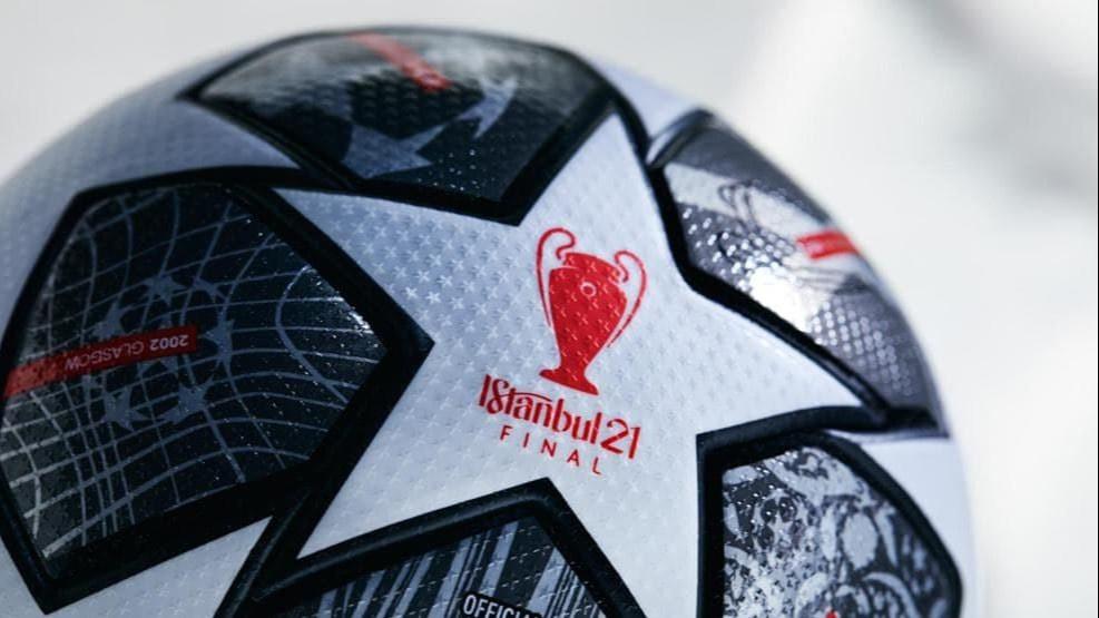 УЕФА представил официальный мяч финала Лиги чемпионов в Стамбуле